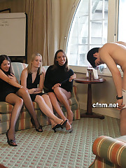 Doctrinaire chicks desire with reference to touch their naked submissive everywhere