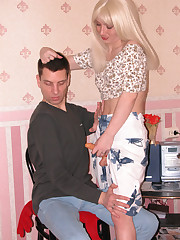 Olivia&Sergey nasty straponfucking session