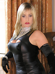 Nina Birch is the Lady Of The Manor