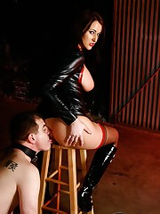 Addicted gazoo Licker with Alexis Grace