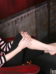 Femdom Foot Fetish Picture