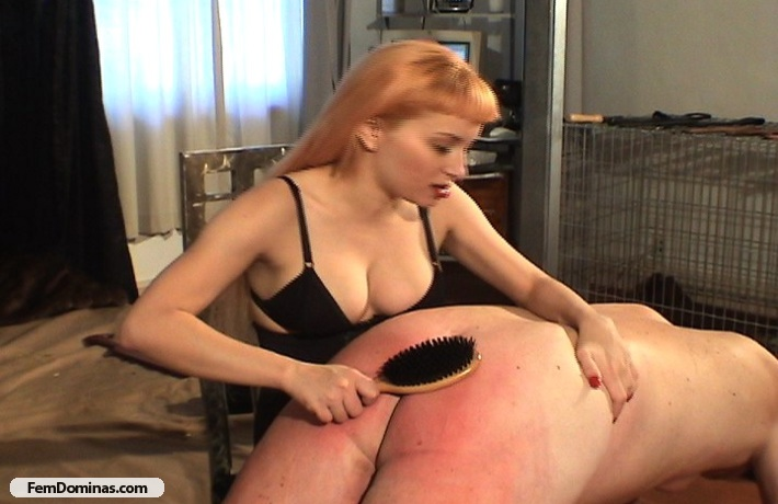 image Blond with stockings binds stud and fuck him