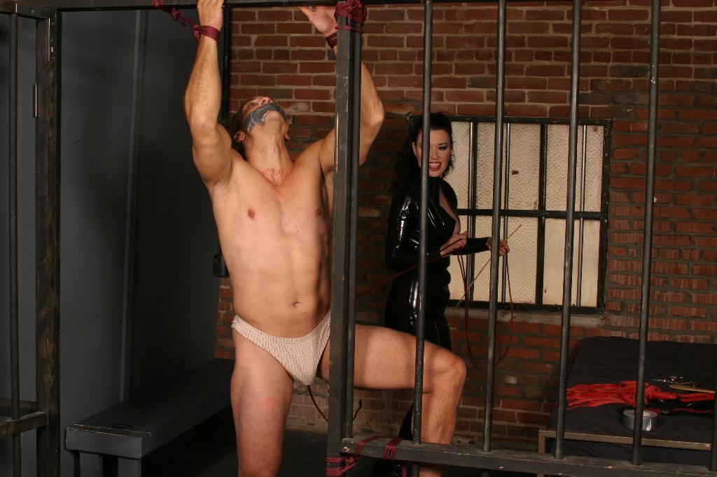 Erotic bondage talking