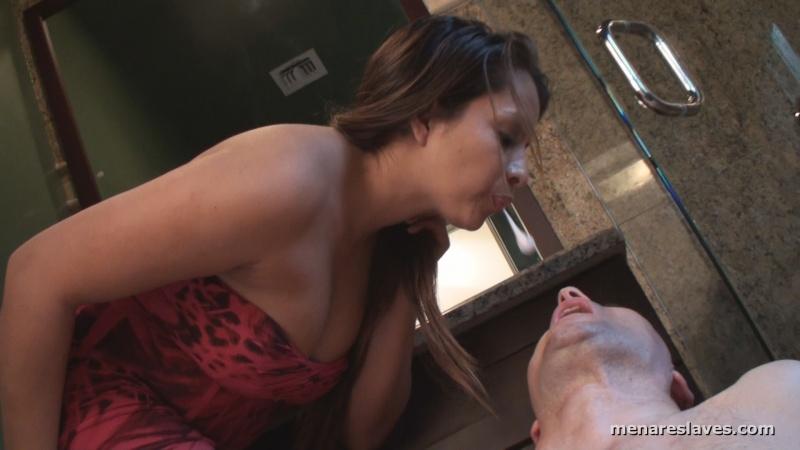 Men slaves watch videos