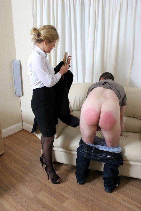 hard spank british femdom