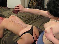 Cruel femdom punishment