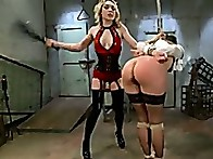 Lily's a sassy domme molding Ginger into her lesbian plaything