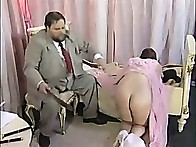 Gorgeous zoung lady is brutally spanked and abased in the dormitory