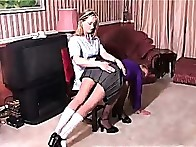 Mother spanked legal age teenager gal otk