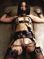 January Seraph suffers through electrical play and pussy torture.