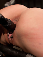 Lyla Storm gets whipped and suspended upside down