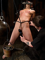 Amber Rayne was violated in bondage