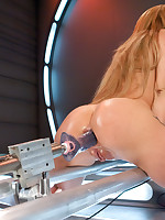 Ass gaping have sexual intercourse fest be required of machine thrusting, spill flying orgasms from the amazing ass and pussy be required of Amy Brooke.