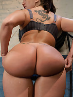 EPIC UPDATE: Kelly Divine's perfect on touching ass exposed, squirting an enema for ages c in depth she cums, nailed abysm and hard by big toys on..