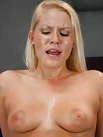 Hot Blond with an endless supply of pussy fucking orgasms takes on 3 high powered, custom machines that fuck say no to to exhaustion.