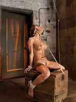 A slave is scared, nervous and apprehensive