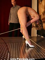 Blonde was tied and bullwhipped near picture