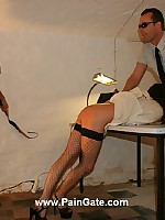 Inmate babe gets whipped