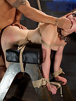 A sex crazed masochistic slaveslut getting sadistic fucking