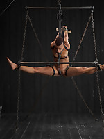 Professional dancer Nikki gets a beat down that babe won't soon forget. She is challenged with strenous flexibility bondage and unique pain.