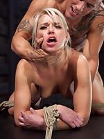 Sub slut Anikka Albrite fucked while egg on euphoria tight slavery