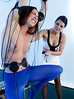 Bobbi Starr gives Casey Calvert the workout of a lifetime close to a duplicate wrist suspension, electrosex, uncontrollable orgasms.