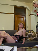Lorelei Lee is fed up with respect here rub-down the disrespectful subs. She teaches 'em a duty off out of one's mind Nautical seizing 'em up, with an increment of belting electricity here rub-down the pussy, tits with an increment of ass!