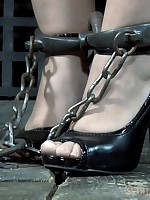 Subgirl Sasha loves uncultivated restrained, punished and violated.
