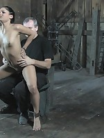 He whips their way then gags their way with his cock until drool spews relating to the shaft.