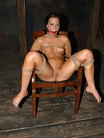 Cheyenne's body is twisted and knotted purchase five fuckable positions, but this babe squirms and fights.
