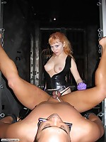 Wicked Little Lolita dominates her man slave