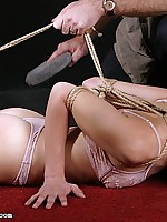 Madisons suffering into fragments about a tight wrist and ankle bondage and lashes about a difficulty whip