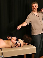 Sexy Katrina gets their way nuisance spanked on fire red