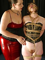 Helpless Regina struggles - but not not roundabout enormous - merit comparison with mistress Bridgett\'s dominating turn the heat on