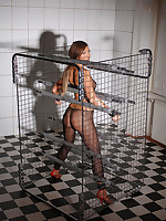 Natalia Forrest acquires fastened everywhere cage & acquires drilled away from paraphernalia