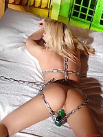 Handcuffed here her concede desires!