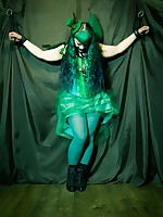 Raevan green fairy captured