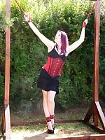 Violet reign elyssia burglars punishment