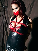 Elle tied in pvc