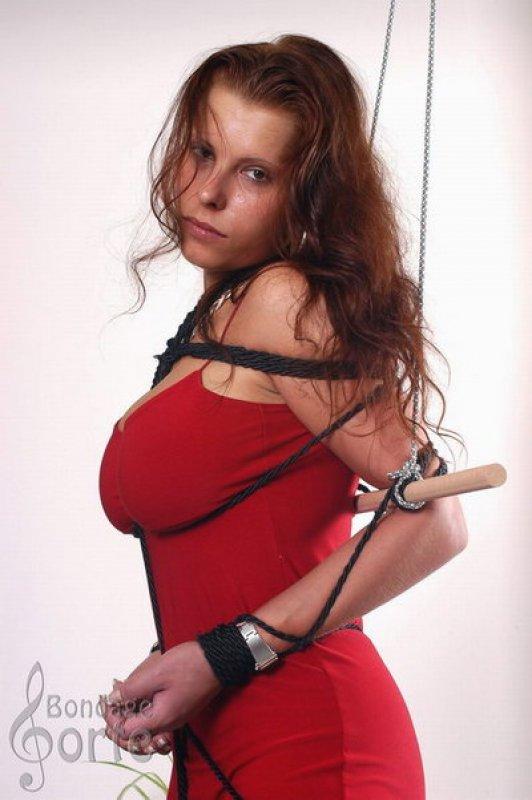 Cosplay bukkake maid bondage