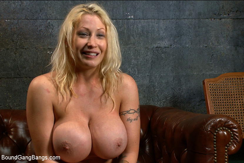 Big Tit Blonde Dildo Solo
