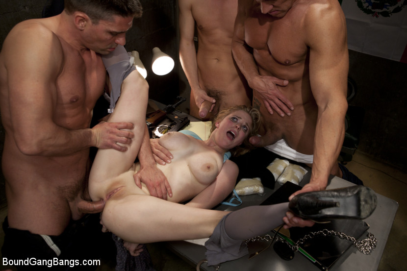 Amateur trailer trash blonde gets bbc cum 6
