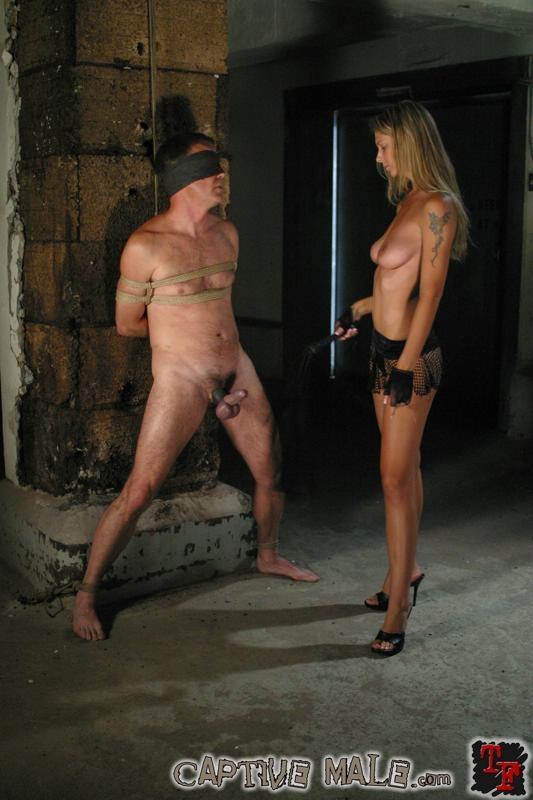 captive male