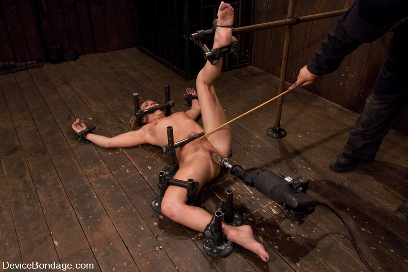 Hung amateur male in predicament bondage video turn