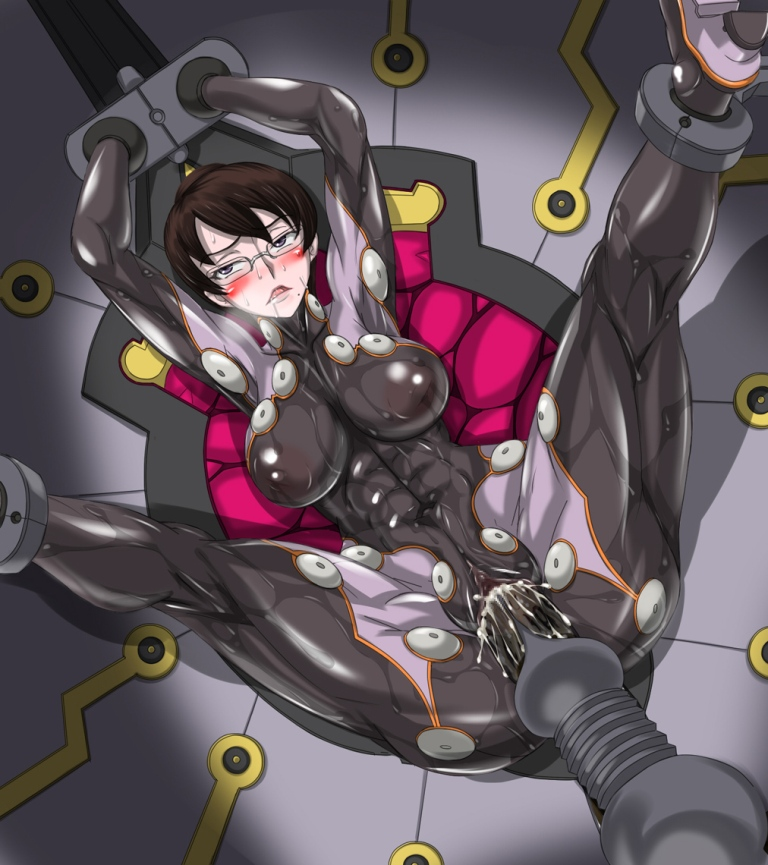 Women in futuristic bondage images