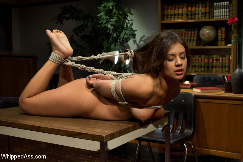 Woman back harsh whipping 6