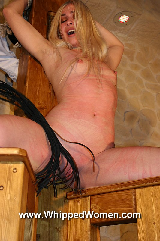 ... chair, legs spread, for harsh pussy whipping - Whipped Women gallery