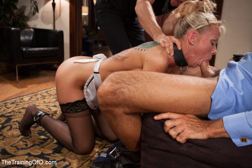 Blonde Pigtails Doggystyle Sex