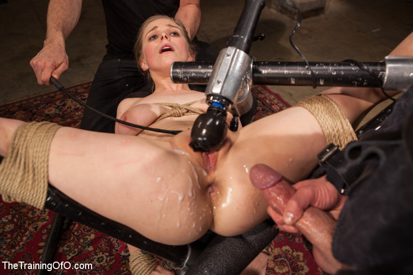 Anal training slave