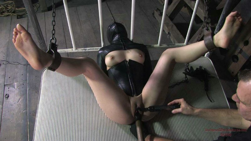 Using bondage hoods